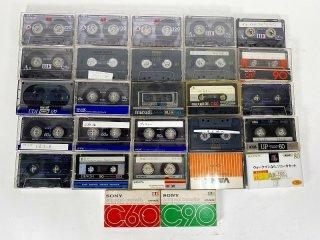 TDK,SONY maxell etc カセットテープ 計27本 保証外品 [24929]