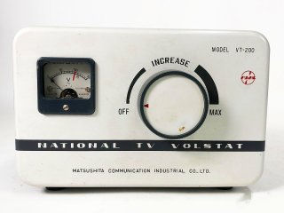 NATIONAL VT-200 TV VOLSTAT スライダック 1台 [24939]