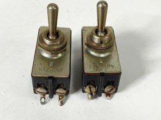 U.S.A 250V 6A スイッチ 2個 [25007]