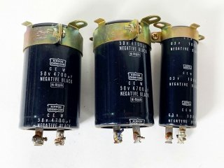 NIPPON CHEMI-CON 電解コンデンサー 計3個 [25043]