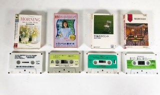 Vitor,DENON etc ミュージックカセットテープ 計4本 保証外品 [25052]