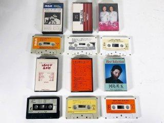 SONY,EMI,PONY etc ミュージックカセットテープ 計6本 保証外品 [25053]