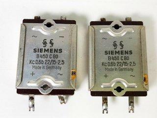 SIEMENS ブリッジ型 セレニウム B450/C80 2個 [25312]
