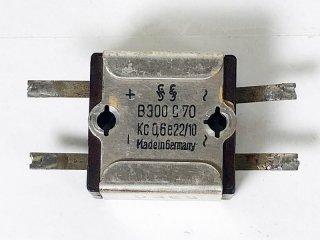 SIEMENS ブリッジ型 セレニウム B300/C70 1個 [25316]