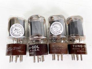 TUNG-SOL/GE 5881 4本 [25592]
