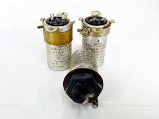 SIEMENS 電解コンデンサー 2MFD & 100MFD 計3個 [25554]