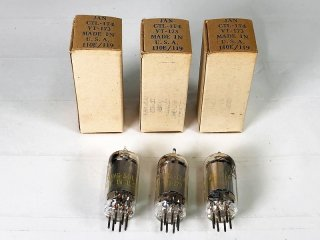 TUNG-SOL CTL-IT-4/VT-173 3本 [25622]