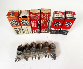 GE,RAD-TEL,RCA 6ER5 計6本 [25647]