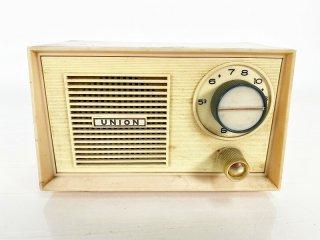 UNION 真空管式 AM小型ラジオ 1個 [25853]