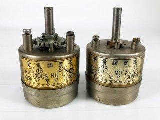 東京光音電波 T50CS 600Ω/600Ω アッテネーター 2個 [26170]