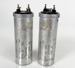 Western Electric KS-14330 60V 1000MFD 2本 [26635]