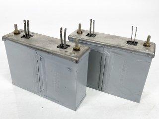 Western Electric 158A 2.16MFD×2 複合型コンデンサー 2個 [26760]