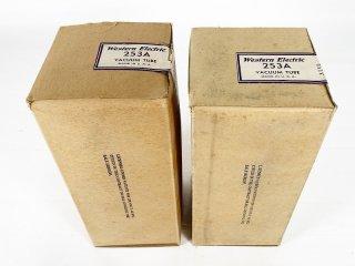 Western Electric 253A 刻印 元箱入 2本 [27042]