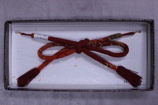羽織紐 赤