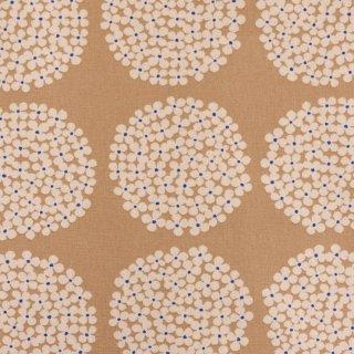 【cotton canvas】北欧風サークルブーケ×10番コットンキャンバス|ベージュ|
