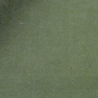【しわになりにくい】コットンとポリエステルで織ったカラーデニム|デニム無地|オリーブ|