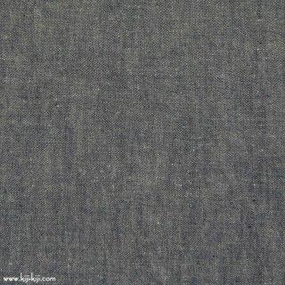 【cotton linen】ナチュラルウォッシュ仕上げのコットンリネン|ウェザークロス|シャンブレーネイビー|