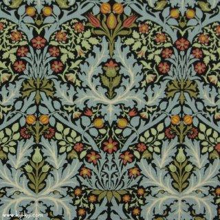 【cotton sheeting】William Morris | Autumn Flowers 1888 | MODA社|ウイリアムモリス|エボニー|