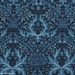 【cotton sheeting】William Morris | Autumn Flowers 1888 | MODA社|ウイリアムモリス|インディゴ|
