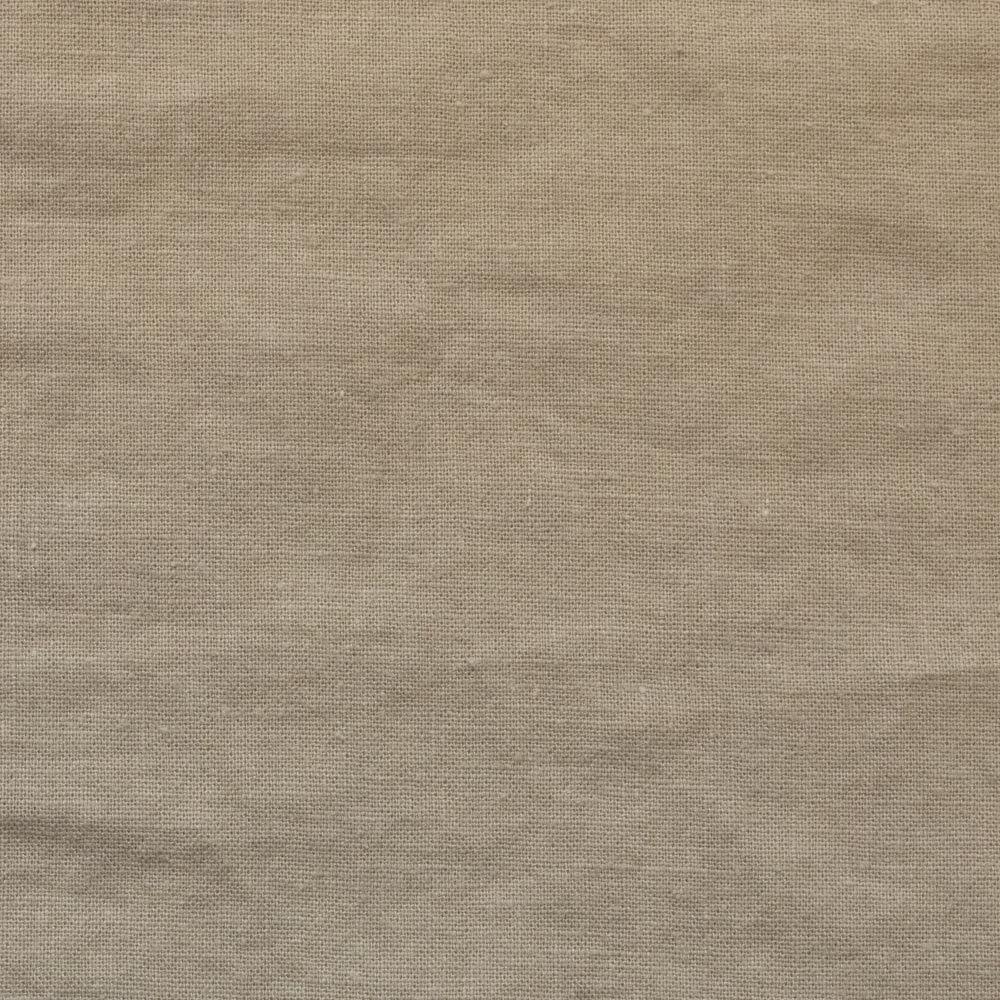 【cotton linen】こだわりのくったりしたハーフリネン×タンブラーワッシャー|ハーフリネンシーチング|ベージュ|