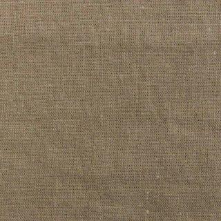 【cotton linen】こだわりのくったりしたハーフリネン×タンブラーワッシャー|ハーフリネンシーチング|ダークベージュ|