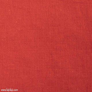 【cotton linen】こだわりのくったりしたハーフリネン×タンブラーワッシャー|ハーフリネンシーチング|レッド|