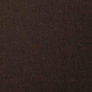 【cotton linen】こだわりのくったりしたハーフリネン×タンブラーワッシャー|ハーフリネンシーチング|ダークブラウン|
