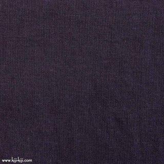 【cotton linen】こだわりのくったりしたハーフリネン×タンブラーワッシャー|ハーフリネンシーチング|ディープパープル|