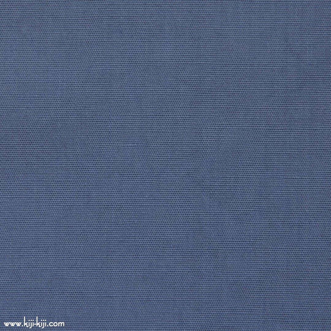 【cotton】グレイッシュカラーのやわらかコットンブロード|30色|スモークブルー|