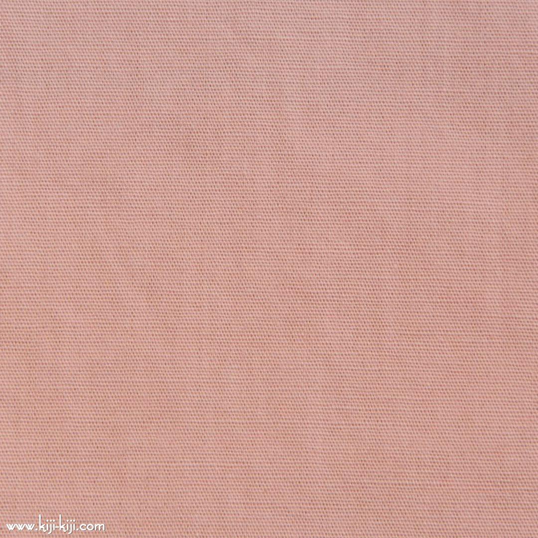 【cotton】グレイッシュカラーのやわらかコットンブロード|30色|スモークピンク|