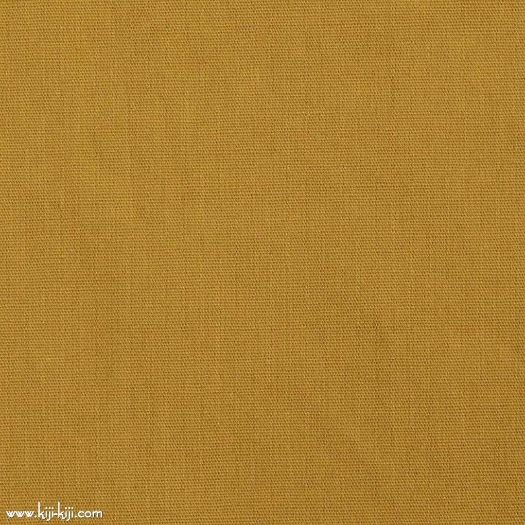 【cotton】グレイッシュカラーのやわらかコットンブロード|30色|マスタード|