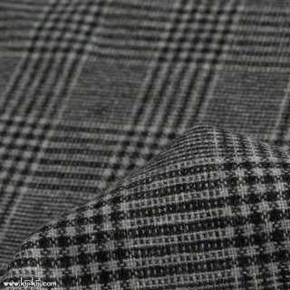 【sale】【wool tweed】ウールツイードグレンチェック|グレー|<img class='new_mark_img2' src='https://img.shop-pro.jp/img/new/icons20.gif' style='border:none;display:inline;margin:0px;padding:0px;width:auto;' />