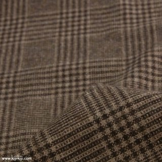 【sale】【wool tweed】ウールツイードグレンチェック|ブラウン|<img class='new_mark_img2' src='https://img.shop-pro.jp/img/new/icons20.gif' style='border:none;display:inline;margin:0px;padding:0px;width:auto;' />