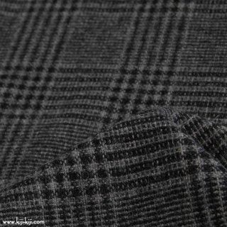 【sale】【wool tweed】ウールツイードグレンチェック|ダークグレー|<img class='new_mark_img2' src='https://img.shop-pro.jp/img/new/icons20.gif' style='border:none;display:inline;margin:0px;padding:0px;width:auto;' />