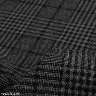 【sale】【wool tweed】ウールツイードグレンチェック|ウインドウチェック|ダークグレー|<img class='new_mark_img2' src='https://img.shop-pro.jp/img/new/icons20.gif' style='border:none;display:inline;margin:0px;padding:0px;width:auto;' />