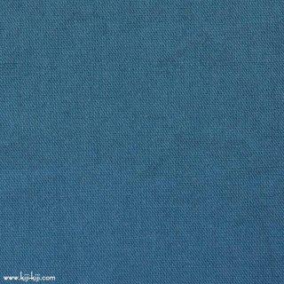 【cotton linen wool】やわらかコットンリネンウールキャンバス【後染】 コットンリネンウール スモークブルー 