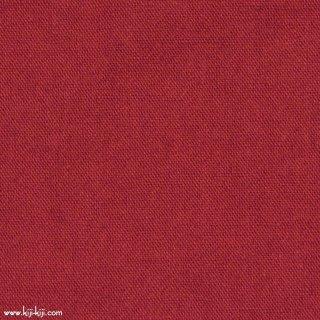 【cotton linen wool】やわらかコットンリネンウールキャンバス【後染】 コットンリネンウール レッド 