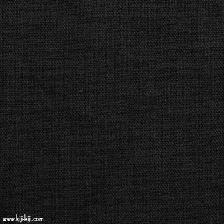 【cotton linen wool】やわらかコットンリネンウールキャンバス【後染】 コットンリネンウール ブラック 