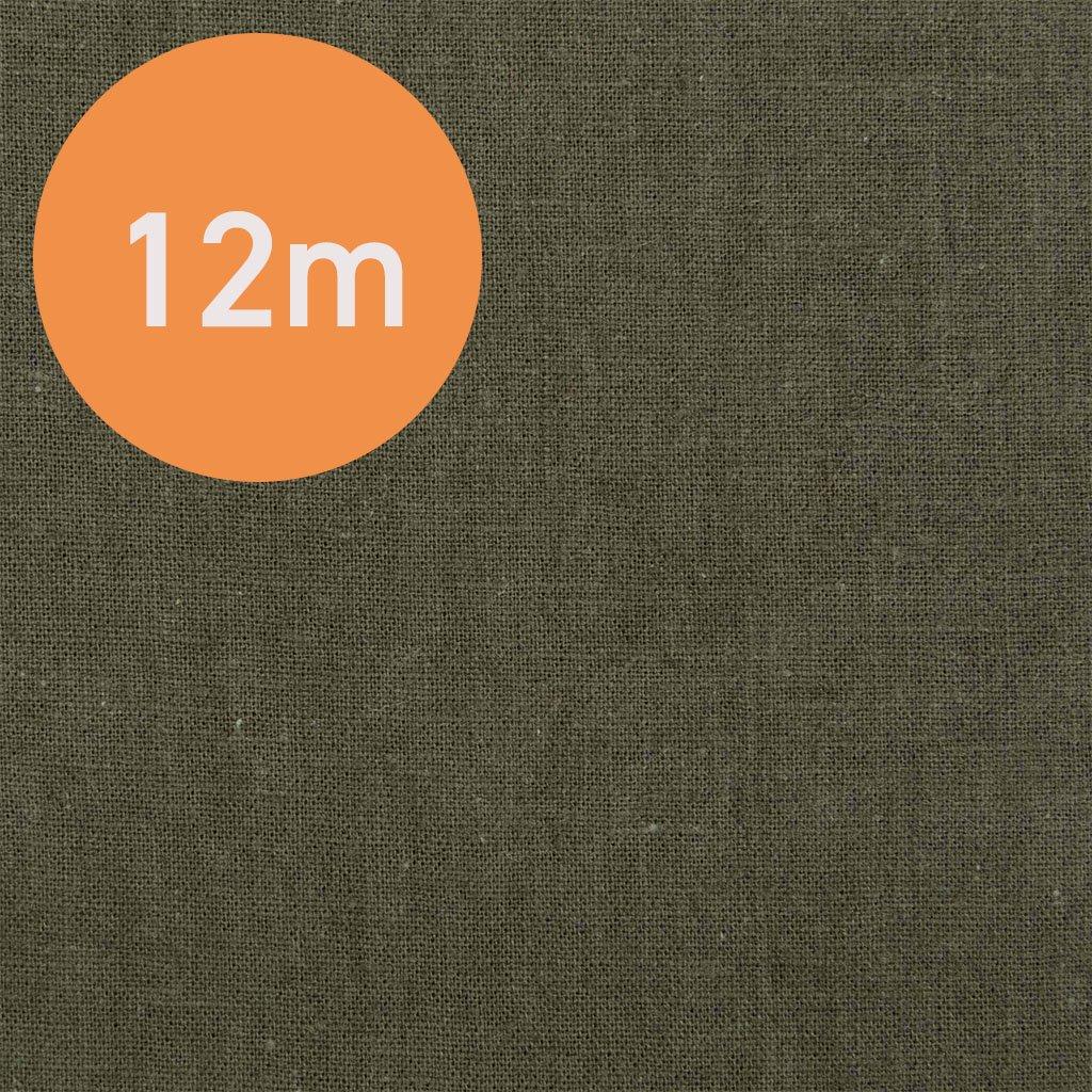 【12m1反販売】こだわりのくったりハーフリネン|タンブラーワッシャー|ハーフリネンシーチング|カーキ|<img class='new_mark_img2' src='https://img.shop-pro.jp/img/new/icons20.gif' style='border:none;display:inline;margin:0px;padding:0px;width:auto;' />