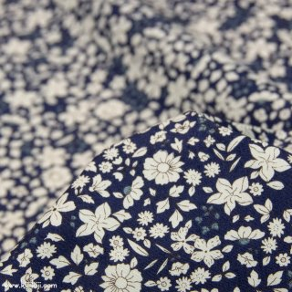 【cotton】スモーキーカラーのシンプルブーケ|コットンブロード|小花柄|ネイビー|