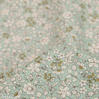 【cotton】スモーキーカラーのシンプルブーケ|コットンブロード|小花柄|スモークセージ|