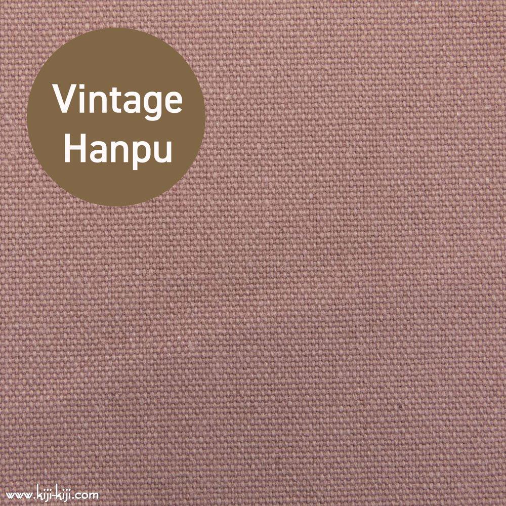 【8号帆布】スモーキーカラーのヴィンテージ8号帆布|ウォッシュ加工|スモークピンク|