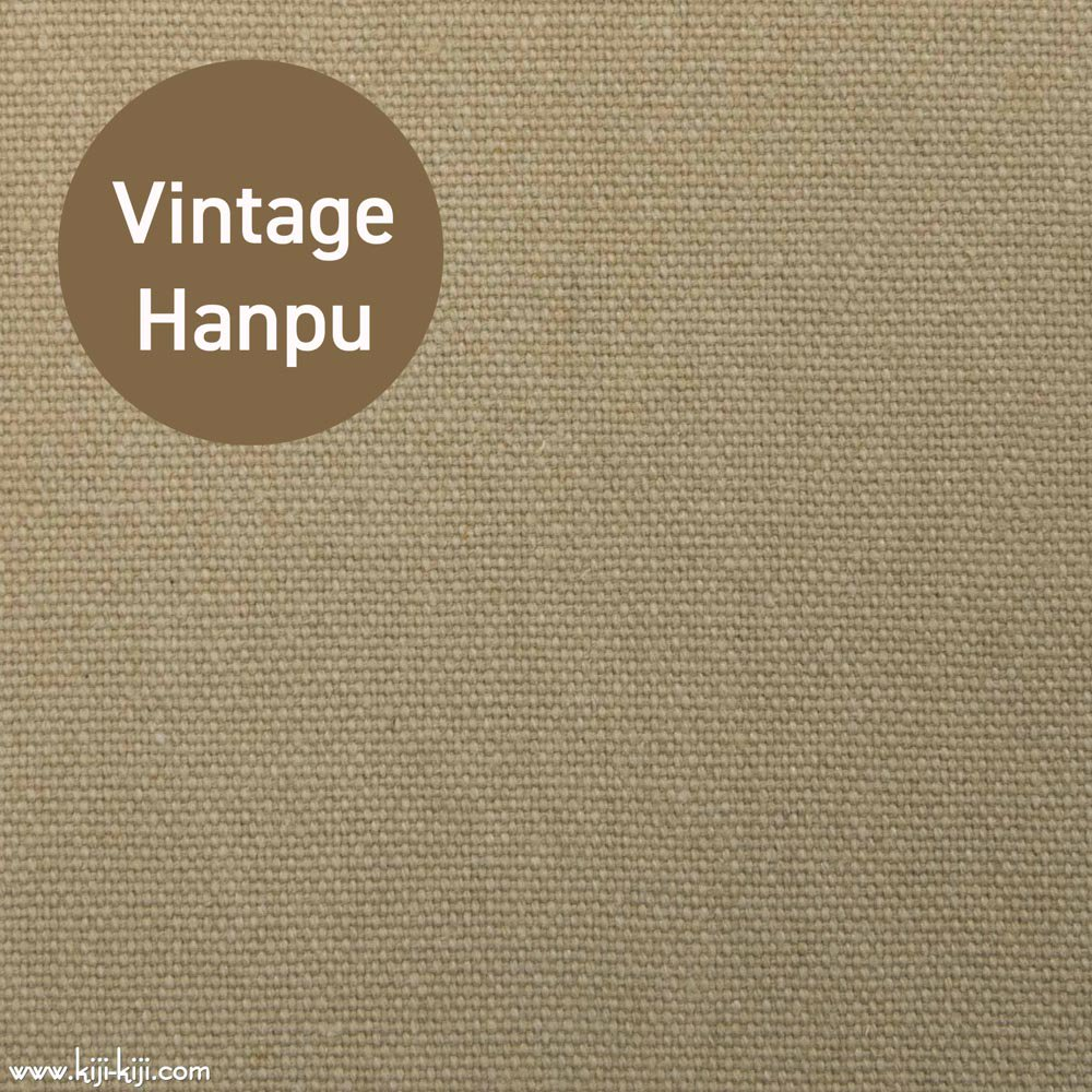 【8号帆布】スモーキーカラーのヴィンテージ8号帆布|ウォッシュ加工|ベージュ|