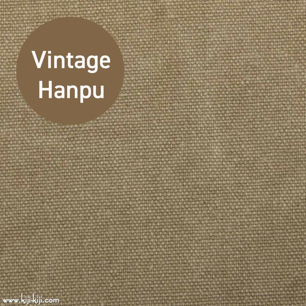 【8号帆布】スモーキーカラーのヴィンテージ8号帆布|ウォッシュ加工|グレージュ|