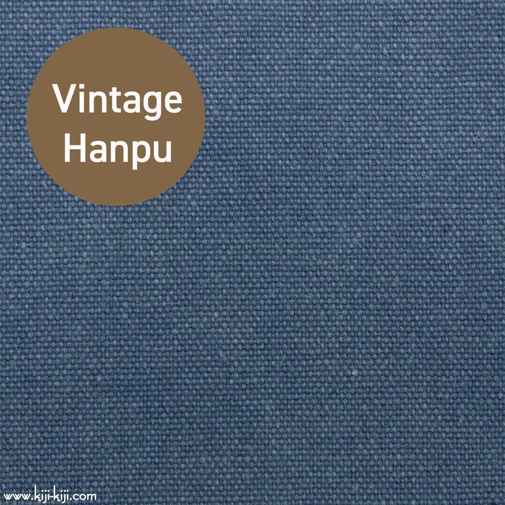 【8号帆布】スモーキーカラーのヴィンテージ8号帆布|ウォッシュ加工|スモークブルー|