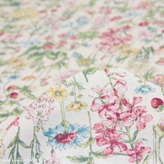 【cotton】English Flower Garden|コットンスケア|花柄|オフホワイト|