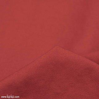 【cotton linen】W巾ヴィンテージコットンリネンカルゼ 天日干し風加工 スモークレッド 
