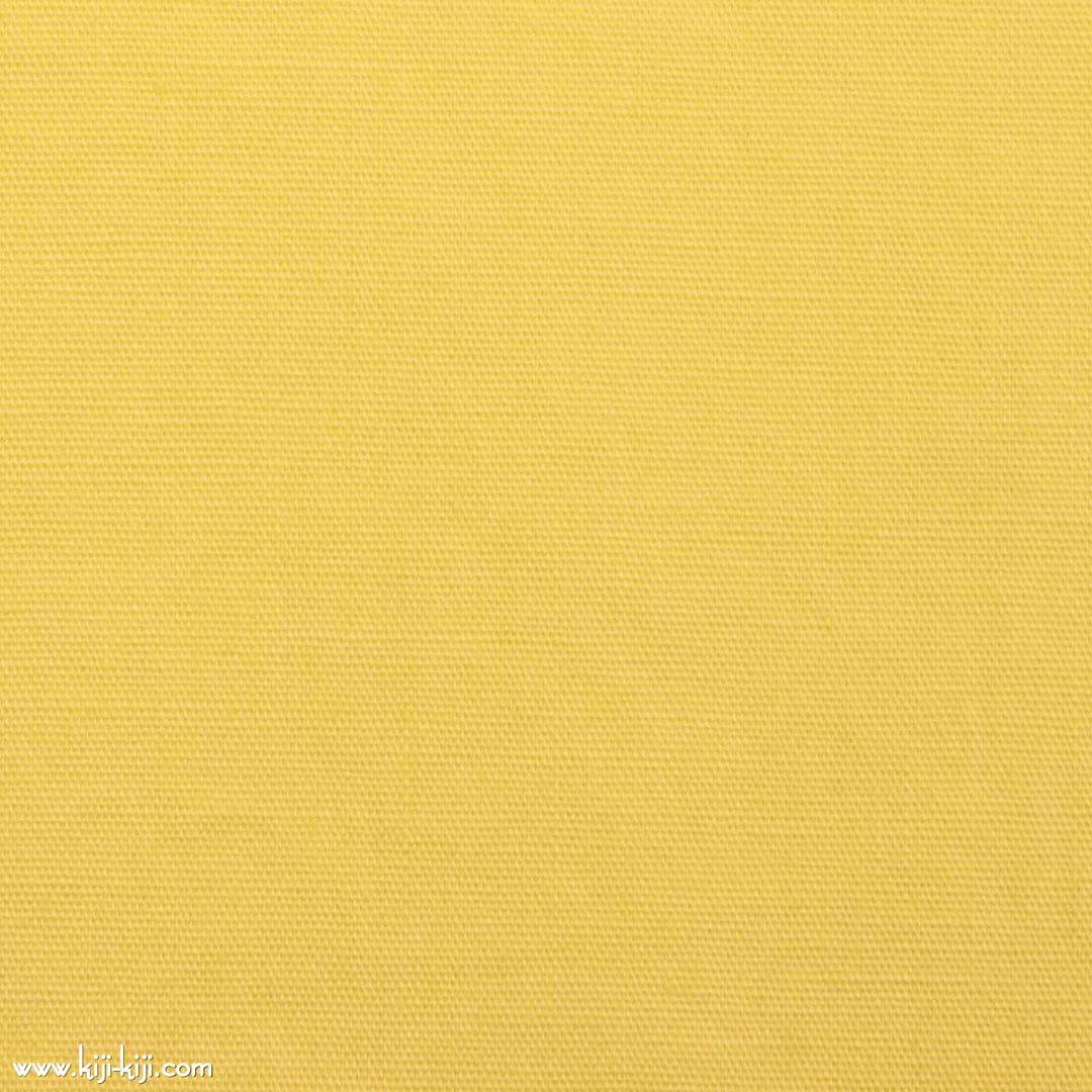 【cotton】きれいめカラーのやわらかコットンブロード|30色|ペールイエロー|