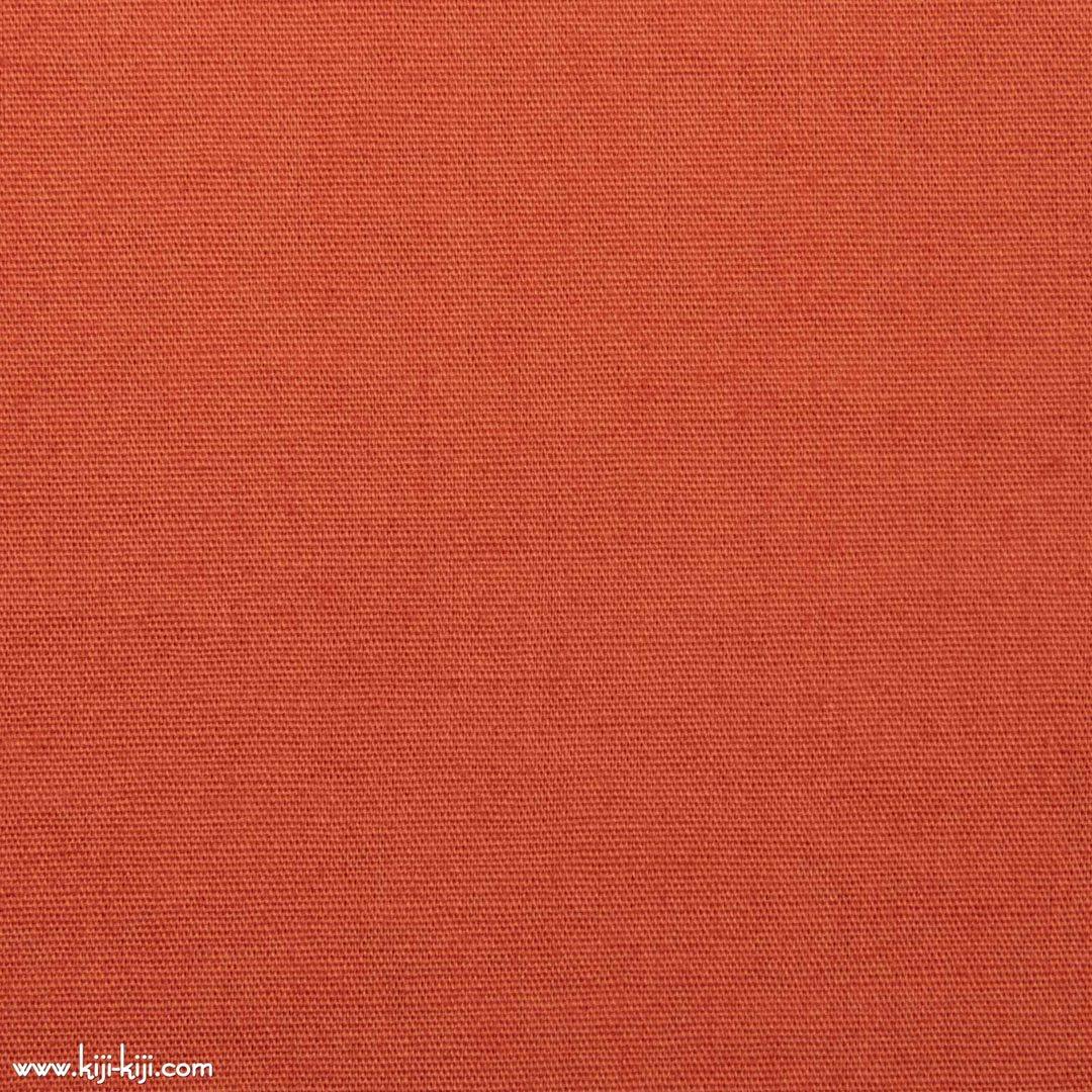【cotton】きれいめカラーのやわらかコットンブロード|30色|スモークオレンジ|