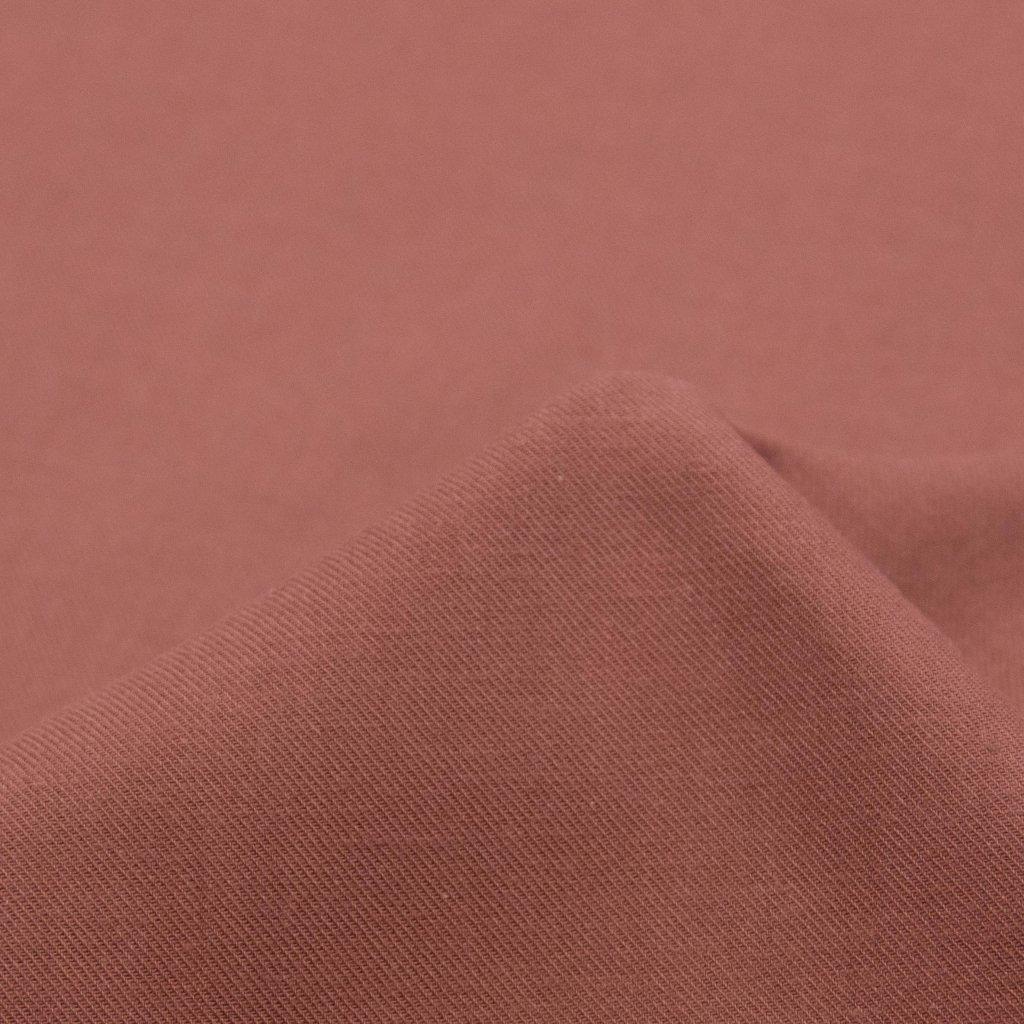 【2021-2022】やわらかく仕上げたコットンビエラのピーチ起毛 ワッシャー加工 ピンクメイプル 